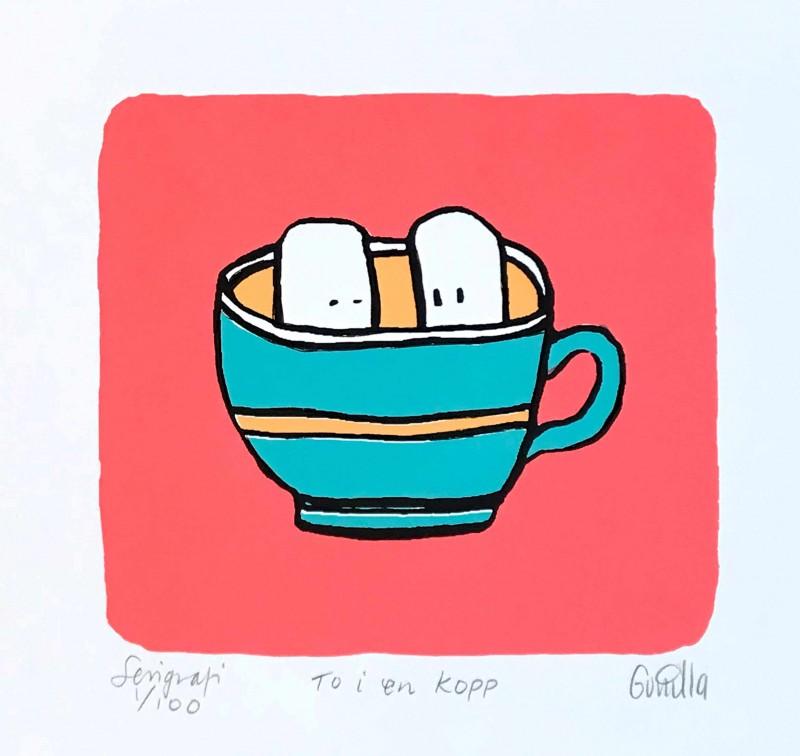 To i en kopp