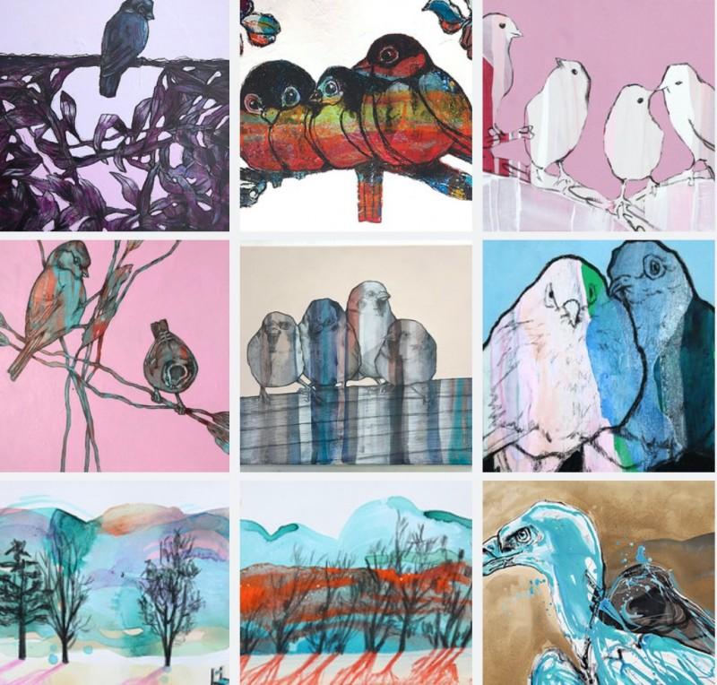 Alle malerier til salgs