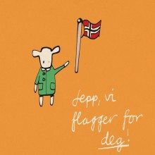 Jepp, vil flagger for deg!