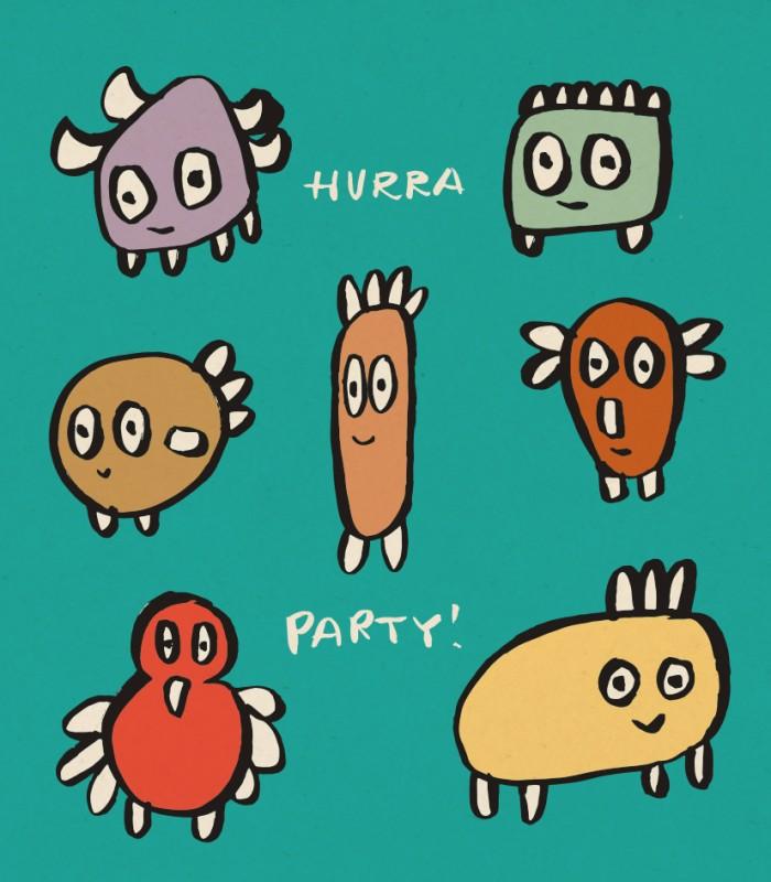 Hurra. Party!