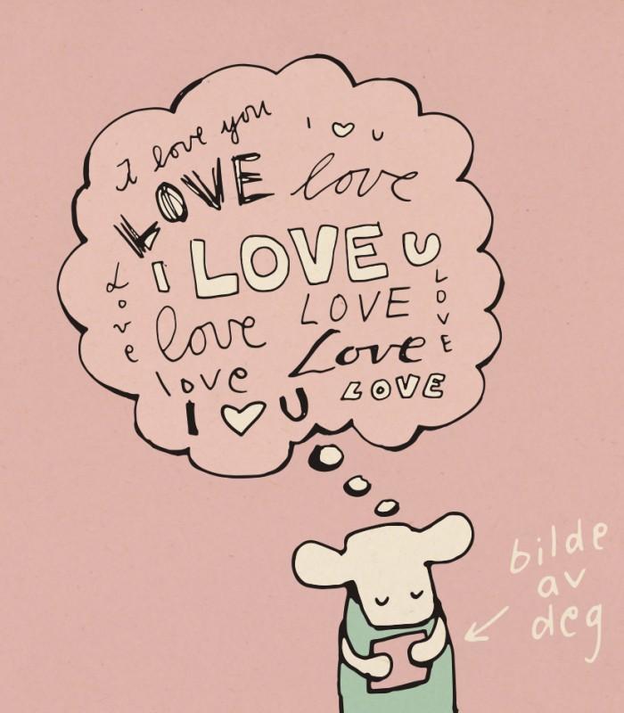 I love u, I love u, I love u
