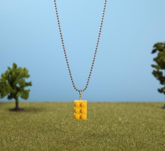Leketøys Legokjede i gult