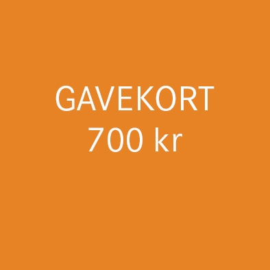 Gavekort 700 kr